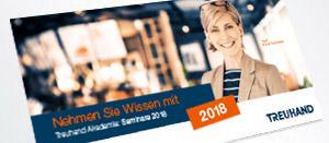 Treuhand Akademie-Flyer 2018