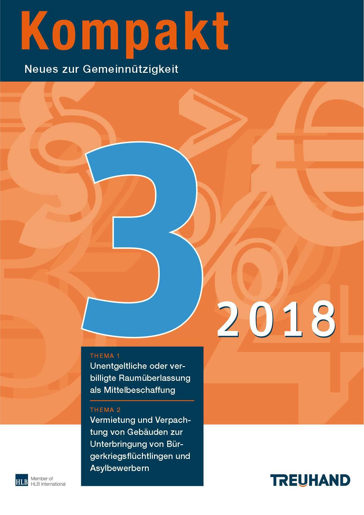 Treuhand Kompakt – Ausgabe 4 2017 – Neues zur Umsatzsteuer