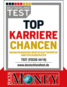 Siegel Branchensieger - Top Karriere Chancen - FocusMoney - Treuhand